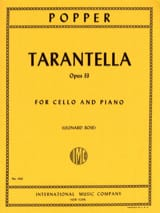 Tarantella op. 33 David Popper Partition laflutedepan.com