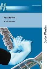 Feux Follets op. 67 Willy van Dorsselaer Partition laflutedepan