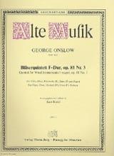 Bläserquintett F-Dur op. 81 Nr. 3 –Stimmen - laflutedepan.com