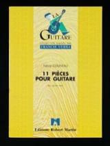Patrice Couineau - 11 Pièces pour guitare - Partition - di-arezzo.fr
