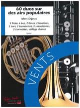 60 Duos sur des airs populaires Marc Dijoux Partition laflutedepan