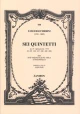 6 Quintetti, Op. 19 (G425-430) - Parties laflutedepan.com