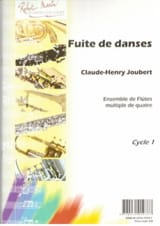 Fuite de danses - Claude-Henry Joubert - Partition - laflutedepan.com