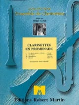 Clarinettes en promenade Partition Clarinette - laflutedepan.com