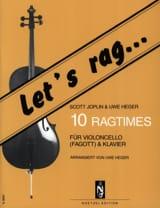 Let's Rag - 10 Ragtimes - Cello laflutedepan.com