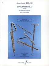 Jean-Louis Tulou - 13th Grand solo op. 96 - Piano flute - Sheet Music - di-arezzo.co.uk