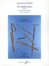 Jean-Louis Tulou - 13ème Grand solo op. 96 – Flûte piano - Partition - di-arezzo.fr