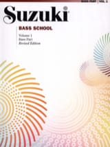 Suzuki - Bass School – Bass Part Volume 1 - Partition - di-arezzo.fr
