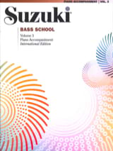 Bass School - Piano Accomp. Volume 3 Suzuki Partition laflutedepan.com