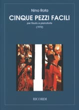 5 Pezzi facili – Flauto pianoforte - Nino Rota - laflutedepan.com