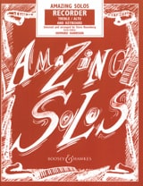 Steve Rosenberg - Amazing Solos – Recorder treble - Partition - di-arezzo.fr