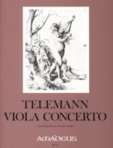TELEMANN - Viola Concerto in G major - Sheet Music - di-arezzo.co.uk