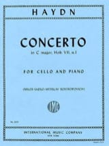 Concerto in C major, Hob. 7, n°1 HAYDN Partition laflutedepan.com