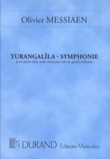 Olivier Messiaen - Turangalîla-Symphonie – Conducteur - Partition - di-arezzo.fr