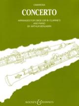 Concerto Domenico Cimarosa Partition Hautbois - laflutedepan.com
