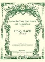 Sonata for Viola four hands and Harpsichord S. 440 laflutedepan.com