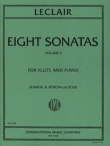 Jean-Marie Leclair - 8 Sonatas - Volume 2 - Piano flute - Sheet Music - di-arezzo.com