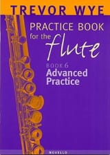 Practice book for the flute Volume 6 - Advanced practice laflutedepan.com