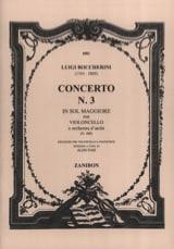 Concerto n° 3 Violoncelle, sol majeur G 480 laflutedepan.com