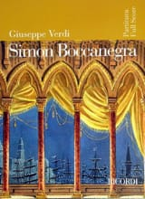 VERDI - Simon Boccanegra nouvelle éd. - Partitura - Partition - di-arezzo.fr