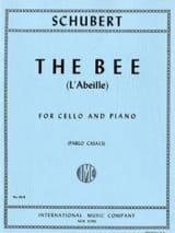 SCHUBERT - The Bee Op. 13 No. 9 - Cello - Sheet Music - di-arezzo.co.uk
