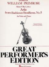 Aria (Bachianas Brasilieras n° 5) – Viola or Cello laflutedepan.com