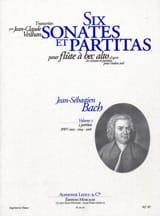 6 Sonates et Partitas - Volume 2 - laflutedepan.com