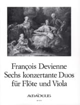 6 Duos Concertants Opus 5 - François Devienne - laflutedepan.com