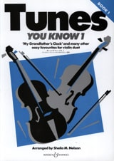 Tunes You Know Volume 1 Sheila M. Nelson Partition laflutedepan.com
