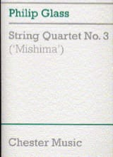 String quartet n° 3 'Mishima' - Score GLASS Partition laflutedepan