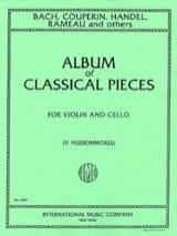 Album of classical pieces - Violin cello laflutedepan.com