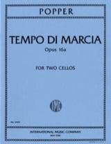 David Popper - Tempo di Marcia op. 16a - 2 Cellos - Sheet Music - di-arezzo.com