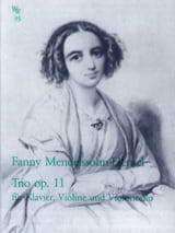 Trio en Ré Mineur Op.11 - Fanny Hensel-Mendelssohn - laflutedepan.com