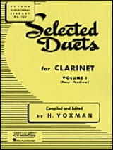 Selected Duets for clarinet - Volume 1 Partition laflutedepan.com