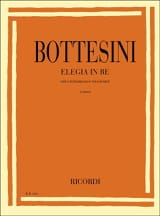 Giovanni Bottesini - Elegia in re - Partition - di-arezzo.fr