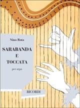 Sarabande et Toccata Nino Rota Partition Harpe - laflutedepan.com