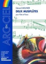 2 Musiflûtes - Gérard Meunier - Partition - laflutedepan.com