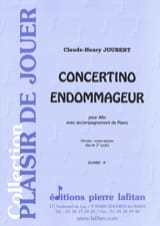 Claude-Henry Joubert - Concertino Damage - Partitura - di-arezzo.it