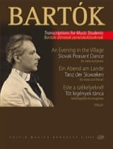 Béla Bartok - An Evening At The Village - Partition - di-arezzo.fr