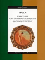 Edward Elgar - Sea Pictures - Pomp & Circumstance marches - Cockaigne Overture - Partition - di-arezzo.fr