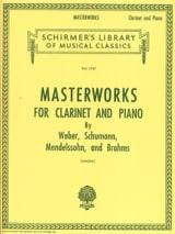 Masterworks for Clarinet and piano Eric Simon laflutedepan.com