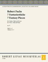 7 Fantasiestücke Op.57 Volume 2 Robert Fuchs laflutedepan.com