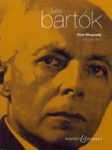 BARTOK - Rhapsody No. 1 - Cello - Sheet Music - di-arezzo.co.uk