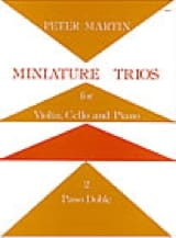 Peter Martin - Miniature Trios 2. – Paso Doble - Partition - di-arezzo.fr