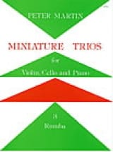 Peter Martin - Miniature Trios 3. – Rumba - Partition - di-arezzo.fr