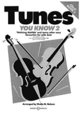 Sheila M. Nelson - Tunes You Know Volume 2 - Partition - di-arezzo.fr