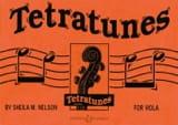 Tetratunes for Viola - Sheila M. Nelson - Partition - laflutedepan.com