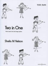 Sheila M. Nelson - Two in One - Violin duets - Partition - di-arezzo.fr