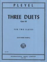 3 Duets op. 68 – 2 Flutes - Ignace Pleyel - laflutedepan.com