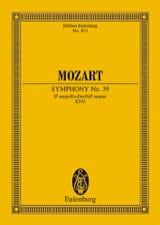 Symphonie Es-Dur KV 543 - Partitur MOZART Partition laflutedepan.com